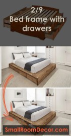 Spectacular Diy Bed Design Ideas That Suitable For Small Space 26