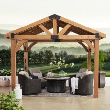 Stylish Gazebo Design Ideas For Your Backyard 05