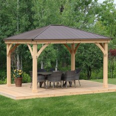 Stylish Gazebo Design Ideas For Your Backyard 11