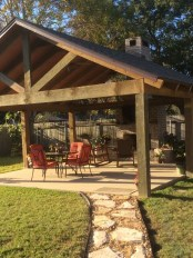 Stylish Gazebo Design Ideas For Your Backyard 12