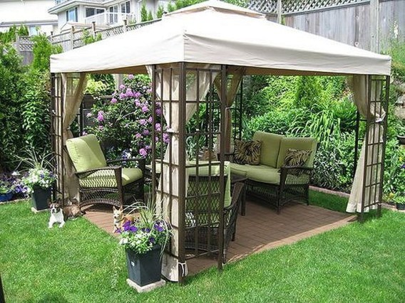 Stylish Gazebo Design Ideas For Your Backyard 17
