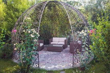 Stylish Gazebo Design Ideas For Your Backyard 47