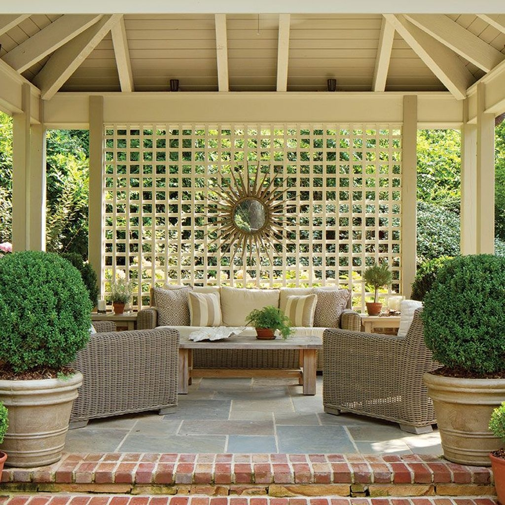 Stylish Gazebo Design Ideas For Your Backyard 51