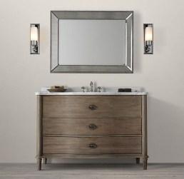 Wonderful Single Vanity Bathroom Design Ideas To Try 10