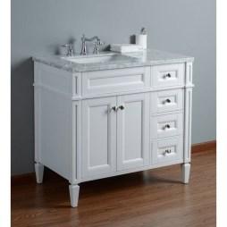 Wonderful Single Vanity Bathroom Design Ideas To Try 30