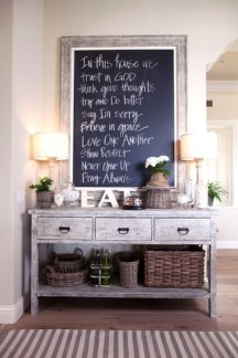 Awesome Dining Room Buffet Table Décor Ideas17