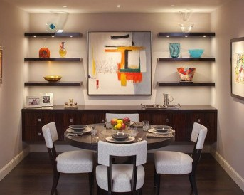Awesome Dining Room Buffet Table Décor Ideas34