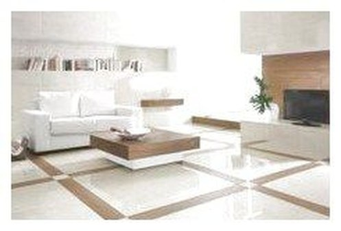 Awesome White Tiles Design For Living Room07