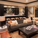 Cool Basement Living Room Design Ideas28