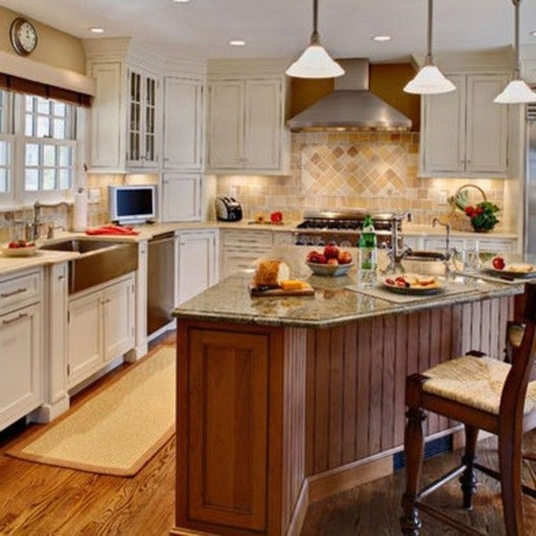 Fantastic L Shaped Kitchen Design Ideas29