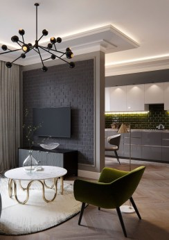 Fantastic Modern Style Apartment Designs Ideas29