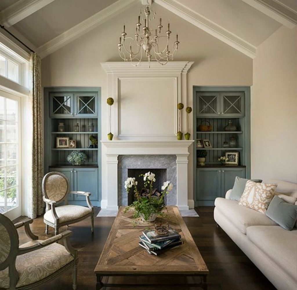 Gorgeous Cabinet Design Ideas For Small Living Room35