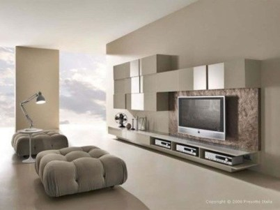 Gorgeous Cabinet Design Ideas For Small Living Room45