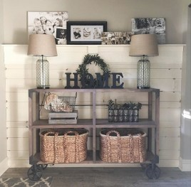 Adorable Fall Home Decor Ideas With Farmhouse Style01