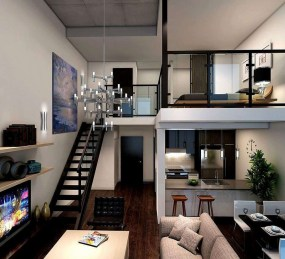 Adorable Loft Apartment Decor Ideas04