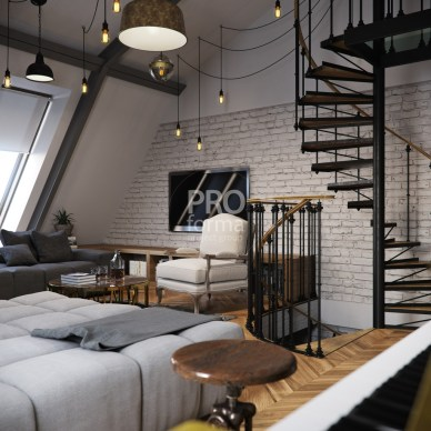 Adorable Loft Apartment Decor Ideas17