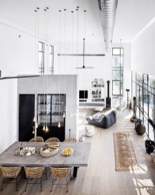 Adorable Loft Apartment Decor Ideas19