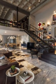Adorable Loft Apartment Decor Ideas22