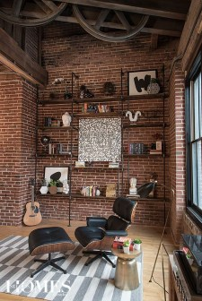 Adorable Loft Apartment Decor Ideas32