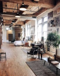 Adorable Loft Apartment Decor Ideas39