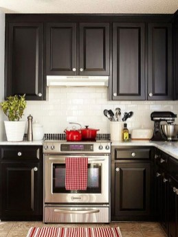 Affordable Black And White Kitchen Cabinets Ideas06