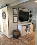 Awesome Living Room Design Ideas With Farmhouse Style22