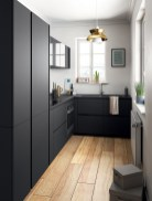 Best Ideas For Black Cabinets In Kitchen25