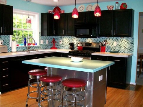 Best Ideas For Black Cabinets In Kitchen30