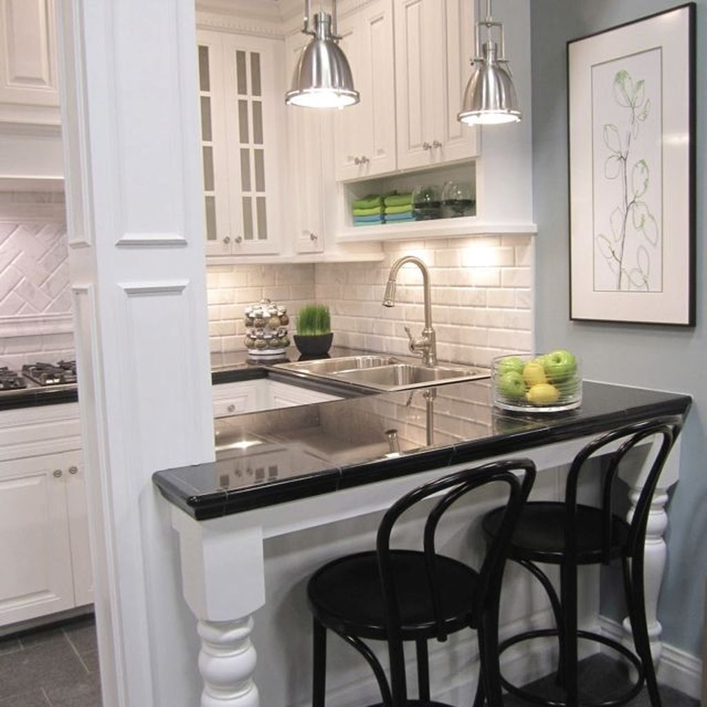 Comfy Kitchen Remodel Ideas For Small Kitchen43