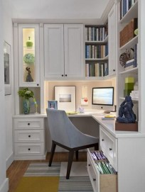 Fabulous Office Furniture For Small Spaces07