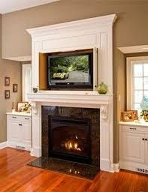 Impressive Living Room Ideas With Fireplace And Tv04