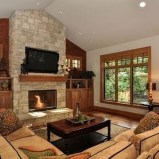 Impressive Living Room Ideas With Fireplace And Tv14