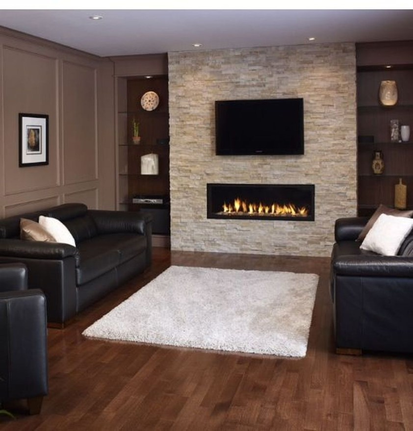 Impressive Living Room Ideas With Fireplace And Tv16