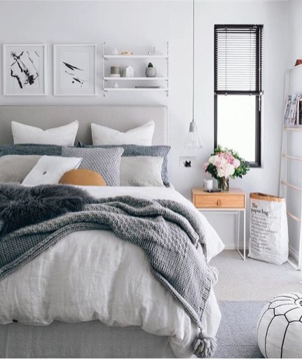 Inspiring Scandinavian Bedroom Design Ideas23