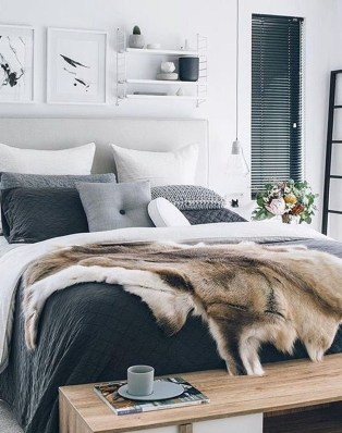 Inspiring Scandinavian Bedroom Design Ideas50