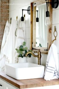Modern Farmhouse Design For Bathroom Remodel Ideas12