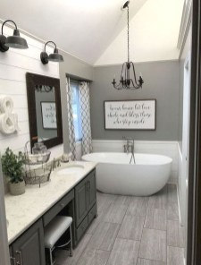 Modern Farmhouse Design For Bathroom Remodel Ideas14
