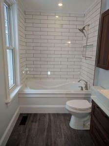 Modern Farmhouse Design For Bathroom Remodel Ideas23