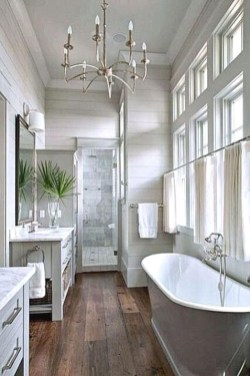 Modern Farmhouse Design For Bathroom Remodel Ideas34
