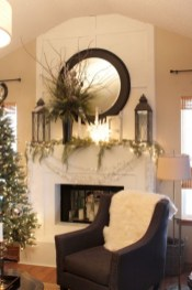 Best Ways To Decorate Your Circle Mirror With Garland07