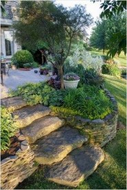 Cool Front Yard Rock Garden Ideas31