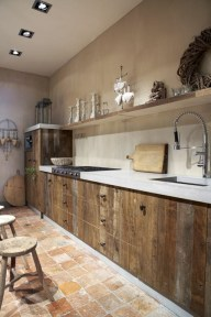 Gorgeous Rustic Kitchen Design Ideas23