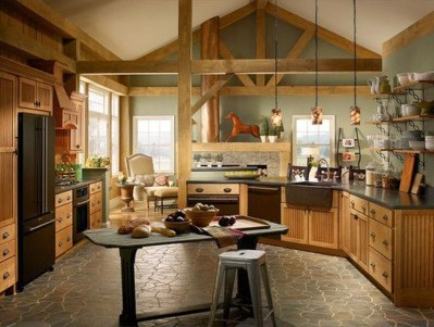 Gorgeous Rustic Kitchen Design Ideas48