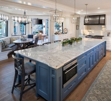 Inspiring Kitchen Island Design Ideas29