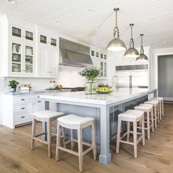 Inspiring Kitchen Island Design Ideas32