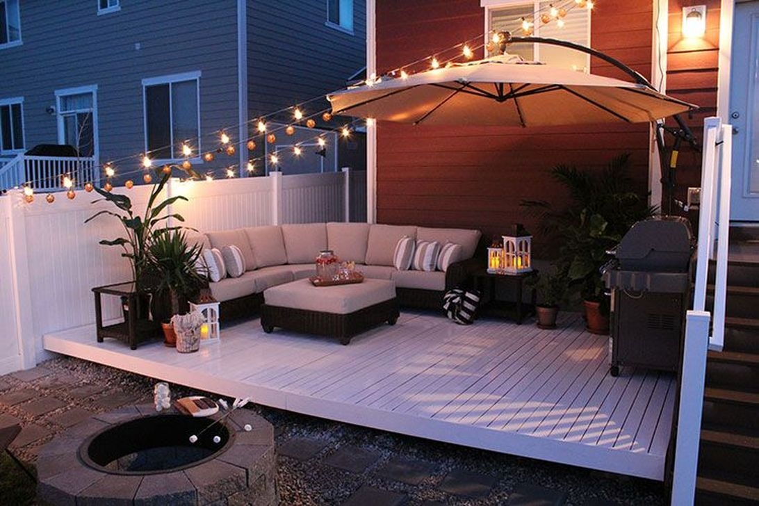 Luxurious Backyard Lighting Ideas26
