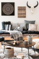 Modern Bohemian Style Home Decor Ideas08
