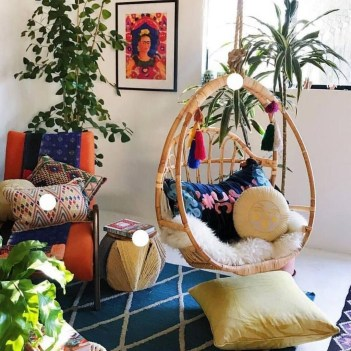 Modern Bohemian Style Home Decor Ideas34