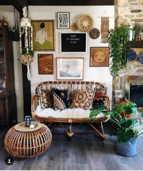 Modern Bohemian Style Home Decor Ideas42