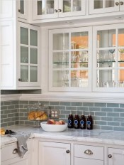 Popular Summer Kitchen Backsplash Ideas32